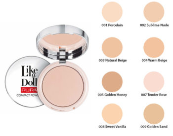 Pupa like a doll nude skin compact powder